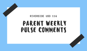 Parent Weekly Pulse Comments