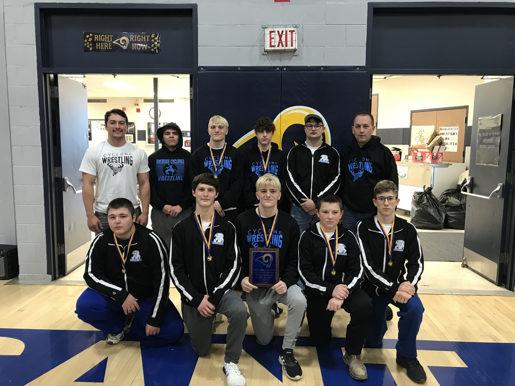 Congratulations to the Cyclone Wrestling Team for winning the Pleasant Ridge Tournament!