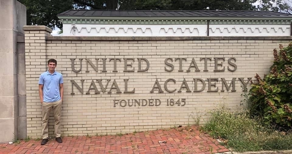 Bradley Libel has accepted an Appointment to the Naval Academy Preparatory School and will report to Newport, Rhode Island, July 20. Congratulations Bradley!